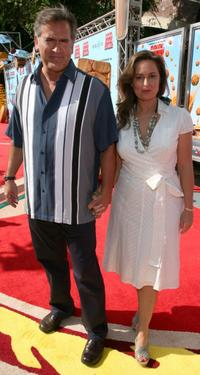 Bruce Campbell and Ida Gearon at the California premiere of