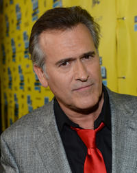 Producer Bruce Campbell at the premiere of