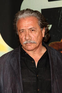 Edward James Olmos at the New York premiere of