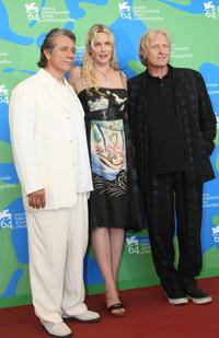 Edward James Olmos, Daryl Hannah and Dutch Rutger Hauer at the 64th Annual Venice Film Festival photocall of