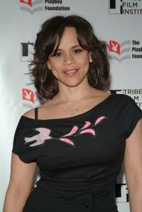 Rosie Perez at the TAA Awards at The Tribeca Film Festival.