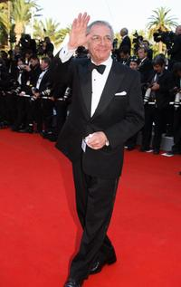 Sydney Pollack at the 59th Cannes Film Festival for the premiere of