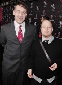 Sam Raimi and David Slade at the Los Angeles premiere of