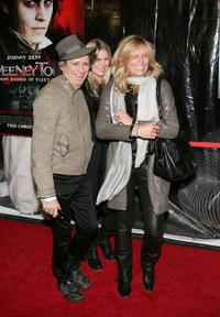 Keith Richards, Alexandra Richards and Patti Hansen at the New York premiere of