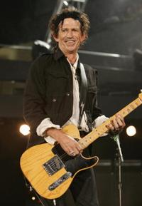 Keith Richards at the promotion of their latest studio album