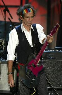 Keith Richards at the Rock & Roll Hall Of Fame 19th Annual Induction Dinner.