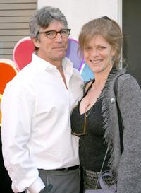 Eric Roberts and his wife Elisa at the celebration for the wrap of season one for NBC's