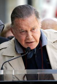 Cliff Robertson at the Hollywood Walk Of Fame.