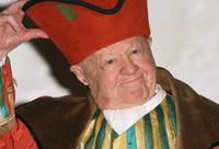 Mickey Rooney at the First Family Entertainment Pantomime Season Panto Line Up Launch.