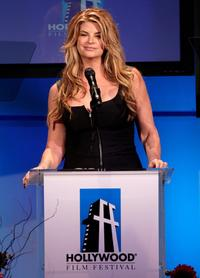Kirstie Alley at the 11th Annual Hollywood Awards.