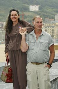 John Sayles and Maggi Renzi at the Photocall for their movie