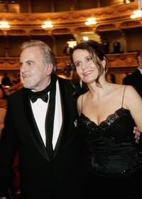 Maximilian Schell and his wife Elisabeth Michitsch at the 2nd annual Semper Opera Ball in Dresden Germany.