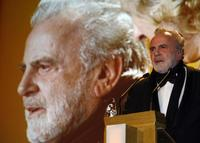 Maximilian Schell at the German entertainment awards ceremony in Munich.