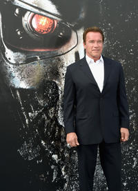 Arnold Schwarzenegger at the California premiere of