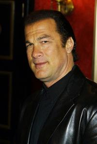 Steven Seagal at the premiere of