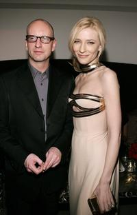 Steven Soderbergh and Cate Blanchett at the after party to the premiere of the film