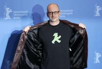 Steven Soderbergh at the photocall for the movie