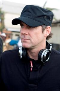 Director/Executive Producer Stephen Sommers on the set of