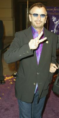 Ringo Starr at the special screening of