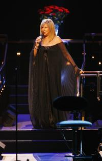 Barbra Streisand at the 02 Arena.