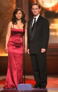 Rosie Perez and Richard Thomas at the 60th Annual Tony Awards.