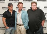 Director Scott Ellis, Richard Thomas and George Wendt at the Roundabout Theatre Company's Broadway play