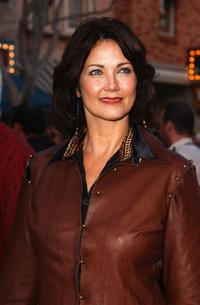 Lynda Carter at the world premiere of