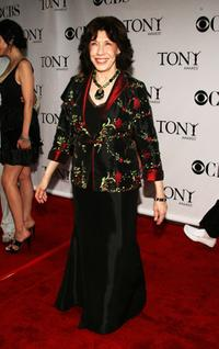 Lily Tomlin at the 62nd Annual Tony Awards.