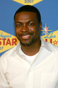 Chris Tucker at the 2007 NBA All-Star Game in Las Vegas.