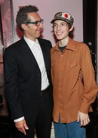John Turturro and his son Amedeo Turturro at the screening of