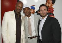 Keenen Ivory Wayans, Marlon Wayans and producer Rick Alvarez at the Mann National Theater for Sony Pictures premiere of