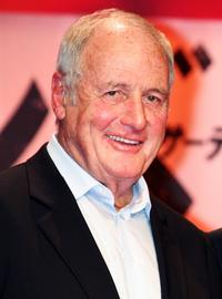 Jerry Weintraub at the press conference to promote