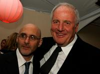 Jeff Robinov and Jerry Weintraub at the after party of the premiere of