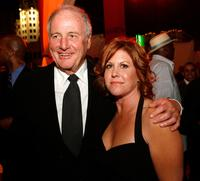 Jerry Weintraub and producer Susan Ekins at the after party of the premiere of
