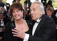 Jean-Pierre Cassel and his wife Anne at the Opening Ceremony of the 59th edition of the International Cannes Film Festival.