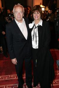 Jean-Pierre Cassel and his wife at the opening of the 4th Marrakesh International Film Festival.