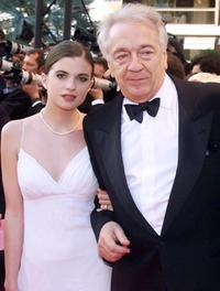 Jean-Pierre Cassel and Guest at the screening of