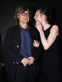 Wim Wenders and his wife Donata at the aftershow party to