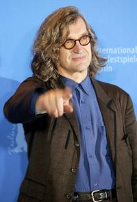Wim Wenders at the 57th Berlin International Film Festival photocall of