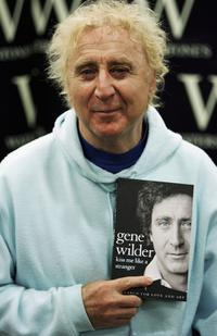 Gene Wilder at the book signing of his autobiography
