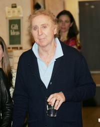 Gene Wilder at the promotion for his new book