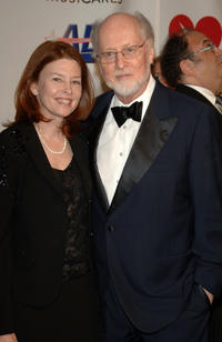Samantha Winslow and John Williams at the 29th Annual Kennedy Center Honors in Washington.