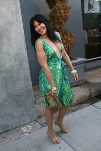 Maria Conchita Alonso at the Playboy Legacy Collection.
