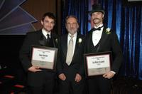 Andrew M. Davis, Vilmos Zsigmond and Sean Stiegemeier at the American Cinematophers 22nd Annual Outstanding Achievement Awards.