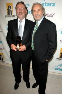 Vilmos Zsigmond and Director Mark Rydell at the 10th Annual Hollywood Awards.