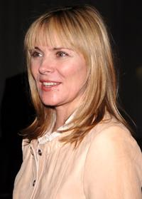 Kim Cattrall at The Cinema Society and The Wall Street Journal after party for