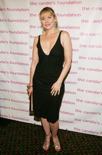 Kim Cattrall at the 4th Annual ''Event To Prevent'' dinner and auction to benefit The Candie's Foundation.