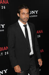 Jordi Molla at the California premiere of