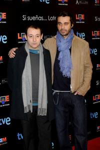Sigfrid Monleon and Jordi Molla at the Goya Cinema Awards.