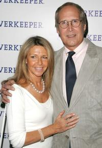 Chevy Chase and his wife Jayni Chase at the 11th annual Riverkeeper Benefit gala honoring the Hearst Corporation.